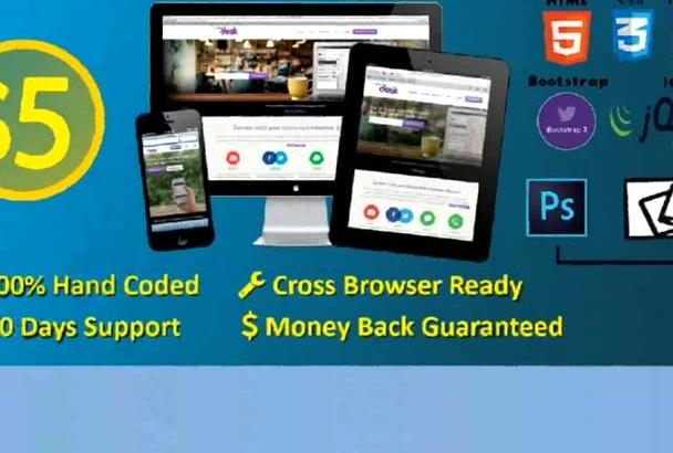 do responsive web page develop