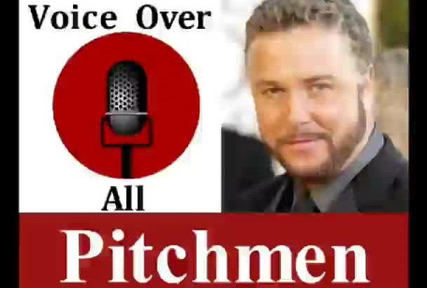 do Professional Pitchman Marketing Voice Over
