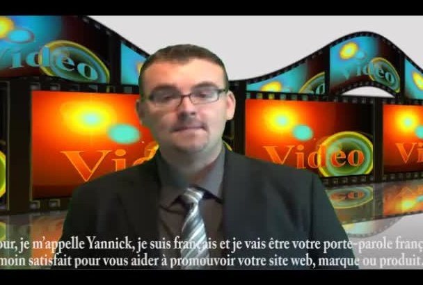 hacer un video testimonial en francés