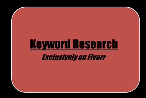 keyword Research local global