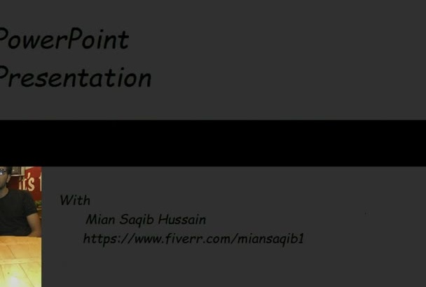 professionally design Your PowerPoint Presentation