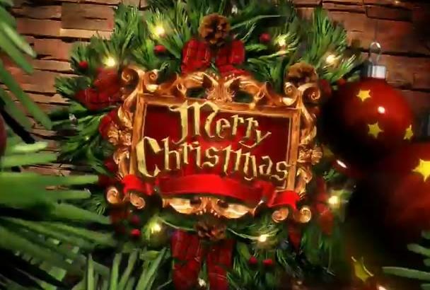 make Smashing Christmas Intro