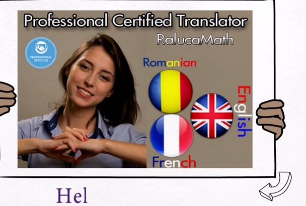 translate English to Romanian or French or the opposite