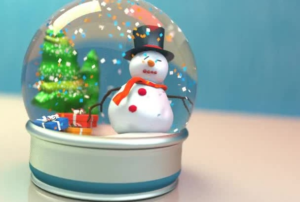 crear una video tarjeta de navidad