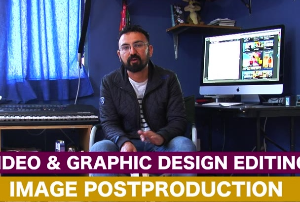 create outstanding animated graphics video for your social networks
