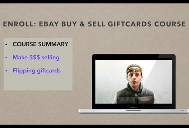 teach you how to make money selling giftcards on ebay