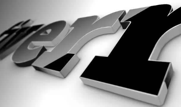 create your 3D LOGO intro