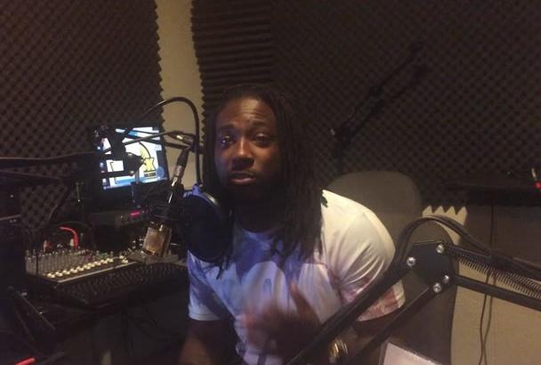 create a video testimony in my radio studio