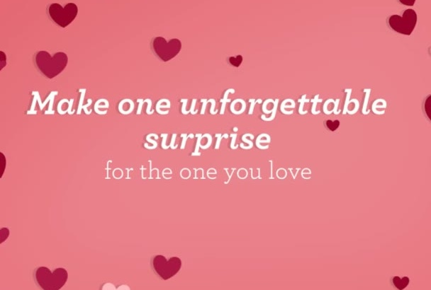 create one Beautiful Love Video