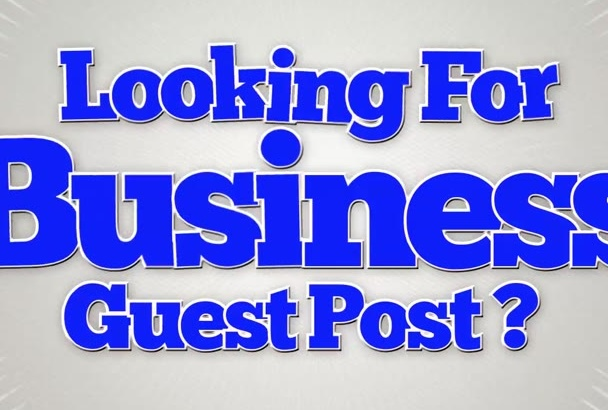 give you a guest post on PR4 BusinessOr Real Estate blog