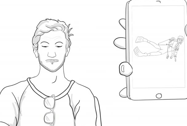 make a wonderful whiteboard animation
