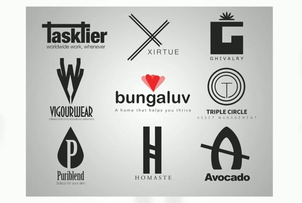 provide a proof of a professional brand crafted logo design