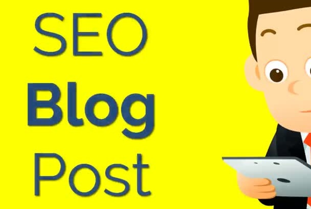 write a SEO blog post and post it on my blog