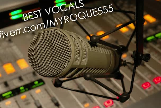 professionally Rock your voice over project Now
