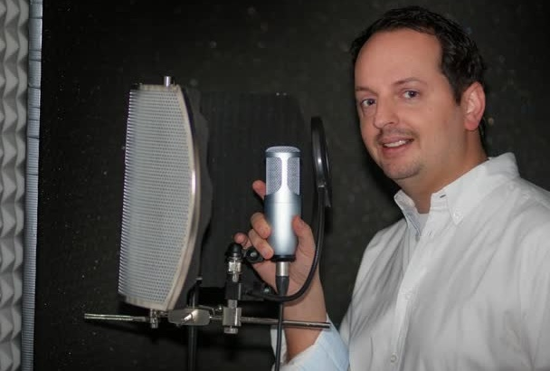 record professional and amazing german voiceover
