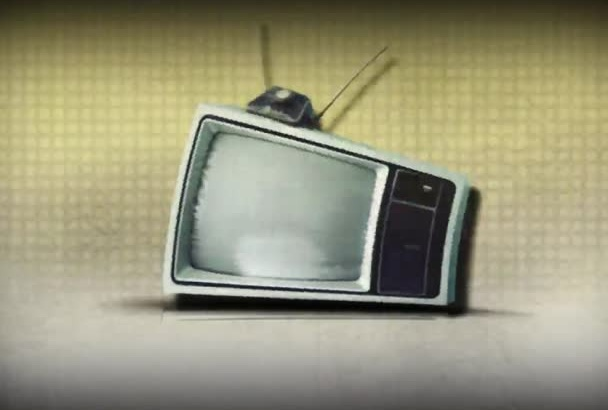 do an old tv intro video
