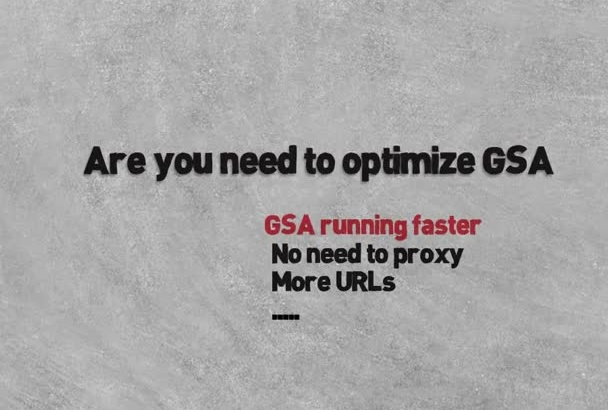 give You a fresh  1,000,000 Verified Lists for GSA updated daily
