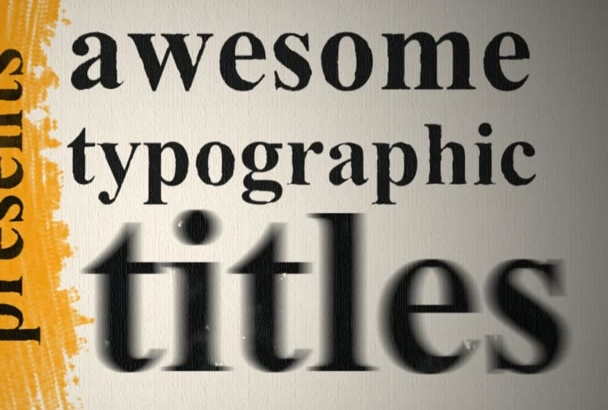 create Express Kinetic Typography video