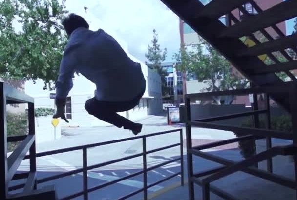 make a Parkour or Freerunning Slow Motion Video