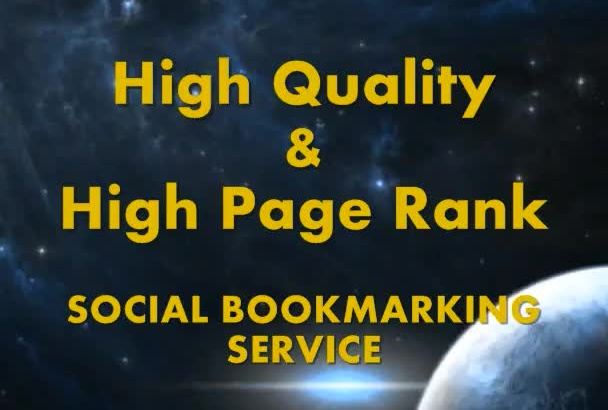 bookmark Manually your site in TOP 25 Social Bookmarks PR9 to PR3 in 24 hours