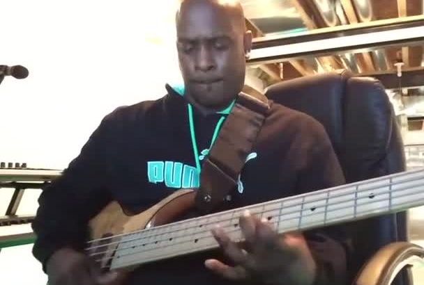 record a bass line of any style for your song