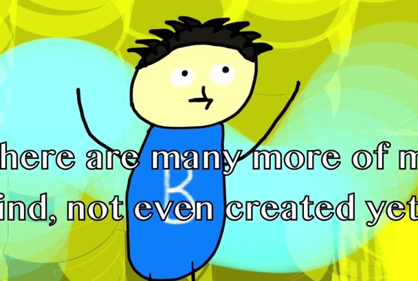 create as many cartoon characters you need