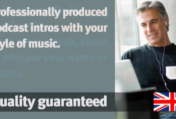 narrate your video or voice your radio jingle