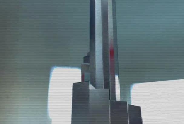 make a Metallic SciFi Logo reveal Intro video