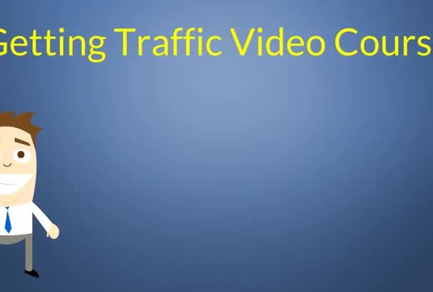 give a MRR video course how to get more traffic