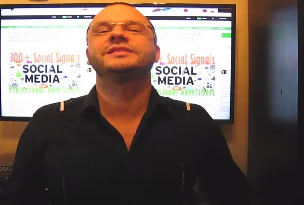 do 300 to 2500 Social Media Signals, a Professional Social Networking Campaign