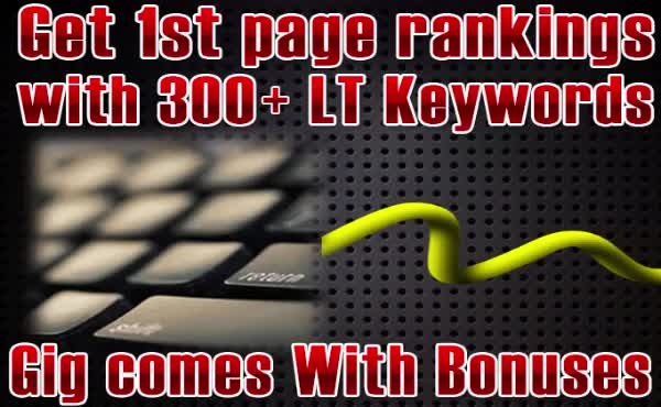 profitable long tails and buyer keywords with 5 bonuses