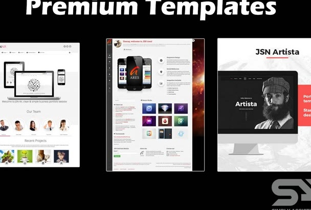 install a Premium Joomla Template