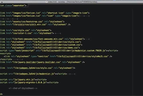 convert psd to html with full responsive