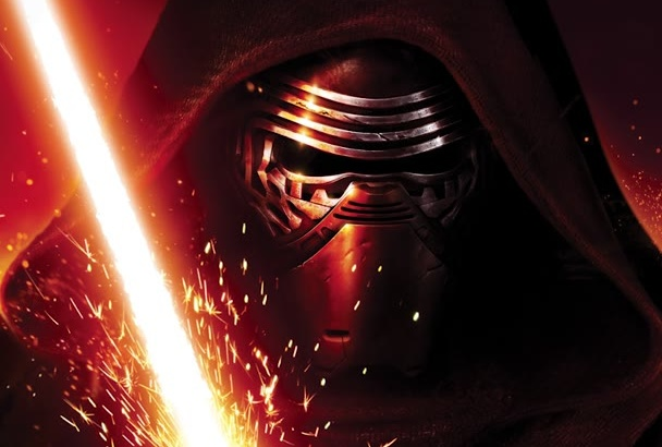 record high quality Kylo Ren, Star Wars styled voice overs
