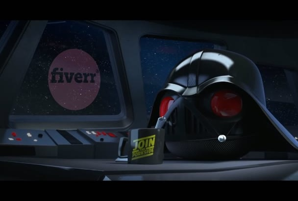 create Angry Birds Star Wars Video Interacting with you Logo