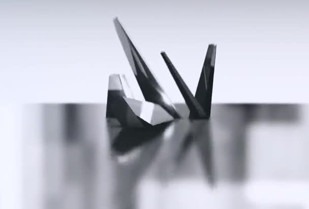 showcase shining Black Crystal Logo