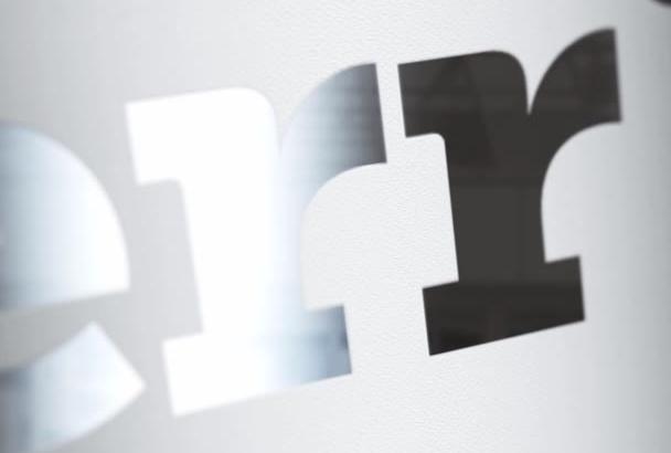 create a stunningly elegant logo intro