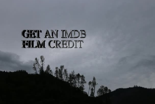 give you an IMDB credit on a film