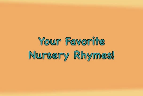 sing pro recorded nursery rhyme songs for you
