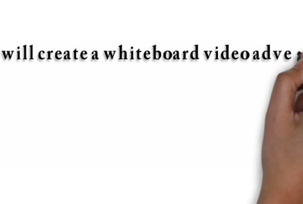 create a whiteboard video presentation on anything