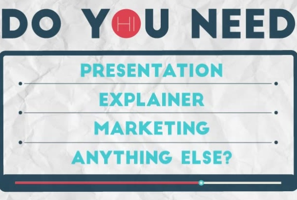 design great infographic and explainer video