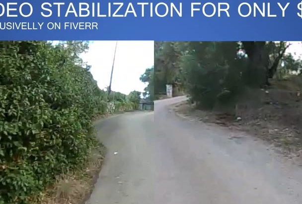 stabilize, remove camera shake from shaky video or footage