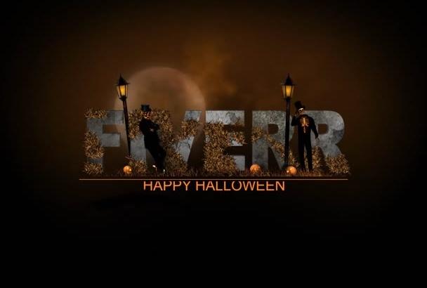 create this spooky Halloween video