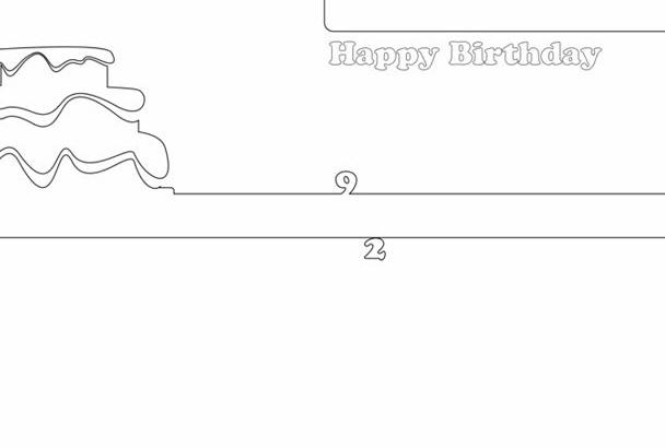 create a Happy Birthday video greeting card