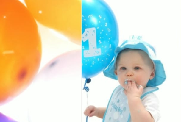 create a lively photo montage slideshow for your loved ones