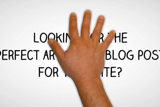 provide SEO Article Writing