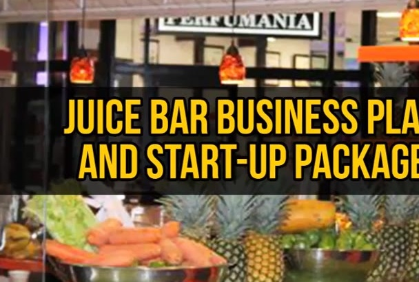 deliver a Juice Bar Business Plan