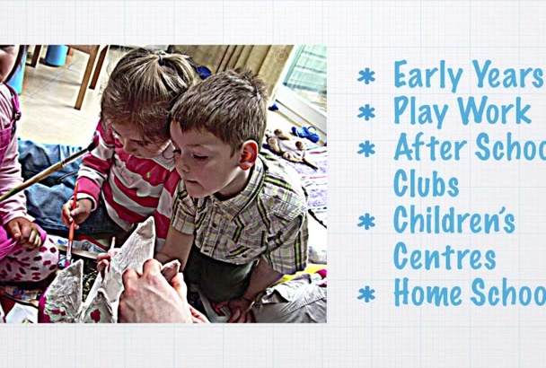 write Weekly Plan for Pre School or Play Group