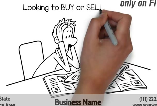 create a Real Estate Whiteboard Animation