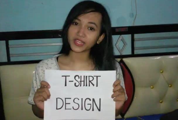 create tshirt design just 24 hours